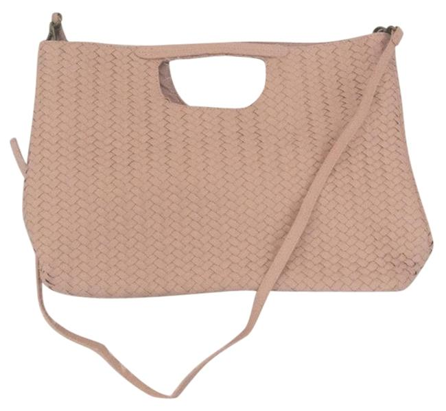 Item - Oversized Woven Rose Tote