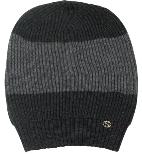 Preload https://img-static.tradesy.com/item/25543383/gucci-gray-and-graphite-wool-web-stripe-graygraphite-winter-cap-310777-hat-0-2-540-540.jpg