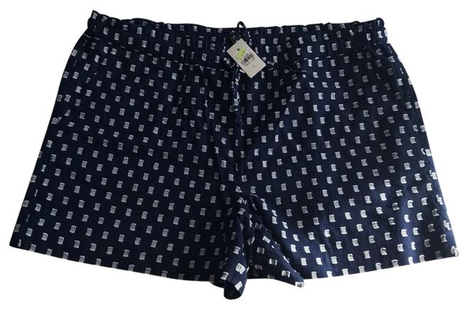Item - Navy Blue and White 24635042 Shorts Size 12 (L, 32, 33)