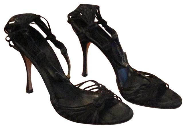 Item - Black Ankle Strap Formal Shoes Size EU 38 (Approx. US 8) Regular (M, B)