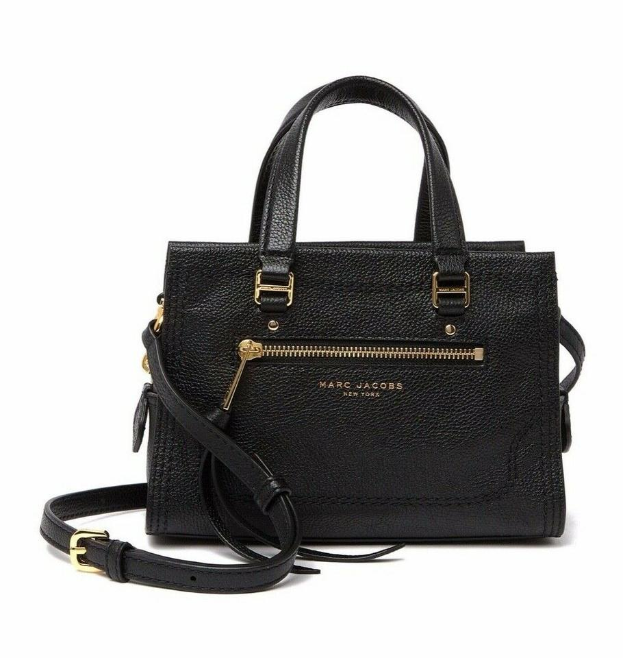 Purse New MARC JACOBS Cruiser Pebbled Leather Satchel Crossbody Bag