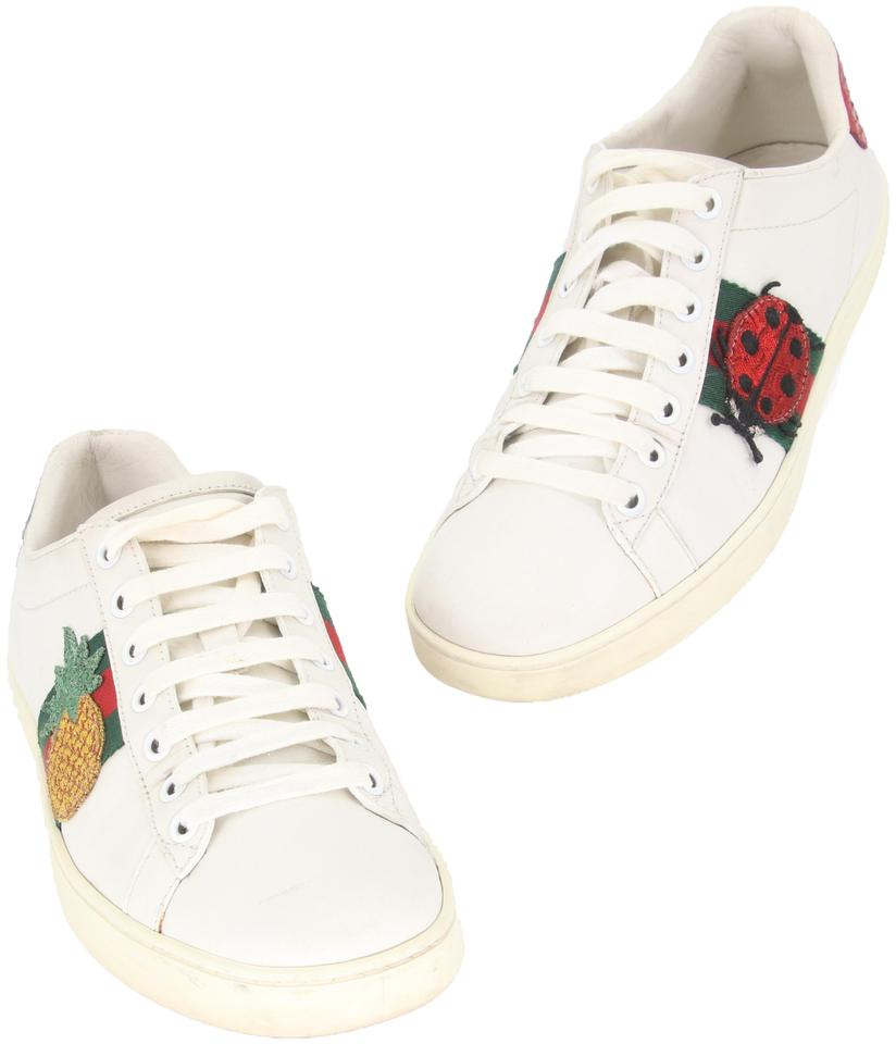 9a03047bd Gucci Streetwear Monogram Guccissima Tom Ford Supreme White Red Green  Athletic Image 0 ...