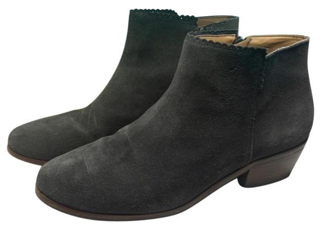 Item - Gray Piper Suede Boots/Booties Size US 8 Regular (M, B)