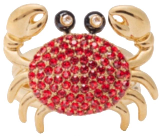 Item - Red/Gold • Shore Thing Crab Ring