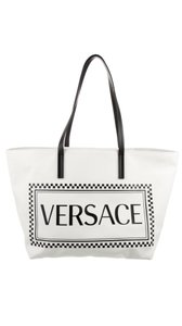 Versace Tote in White