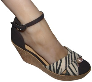 7ab2285a8ed Arizona Jean Company Multi-color Co Espadrilles Wedge Sandals Size US 9  Regular (M, B)