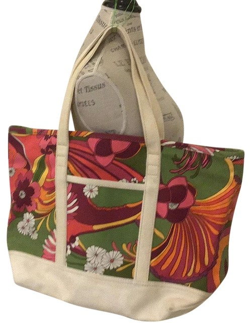 Item - New Without Multicolor Canvas Weekend/Travel Bag