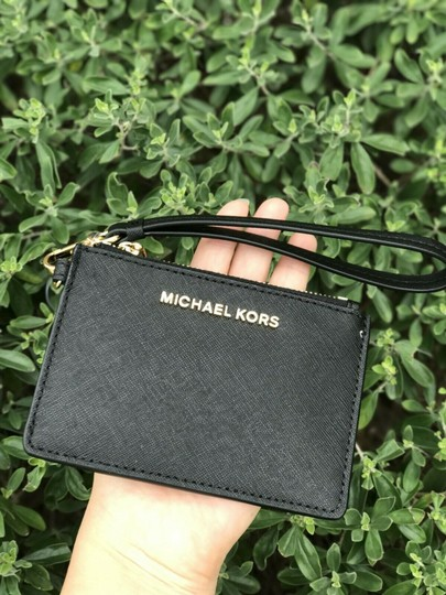 Michael Kors Wristlet in Black Image 1