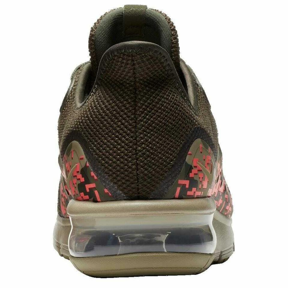 b75ae906a28b2 Nike Green Olive Khaki New Men Air Max Sequent 3 /Cargo /Hot Punch Sneakers  Size US 11 Regular (M, B) - Tradesy