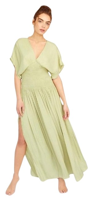 Item - Green Hold Me Close Long Casual Maxi Dress Size 2 (XS)