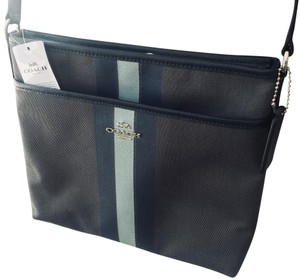 Coach gray Messenger Bag