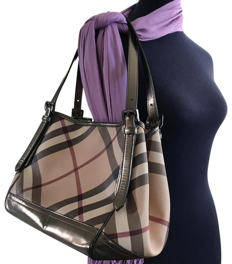 Preload https://item1.tradesy.com/images/burberry-canterbury-multicolor-patent-leather-canvas-shoulder-bag-25545225-0-1.jpg?width=440&height=440