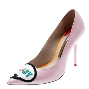 Sophia Webster Leather Pink Pumps