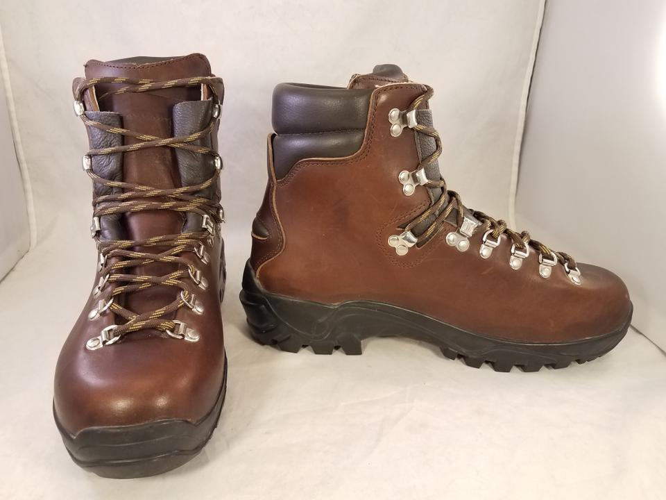 da27306ceb7 Brown Hiking Mountain Trailing Leather Made In Italy By Boots/Booties Size  US 11 Regular (M, B)