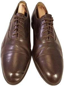 Bally Italy Man Man Size 11.5w BROWN Formal