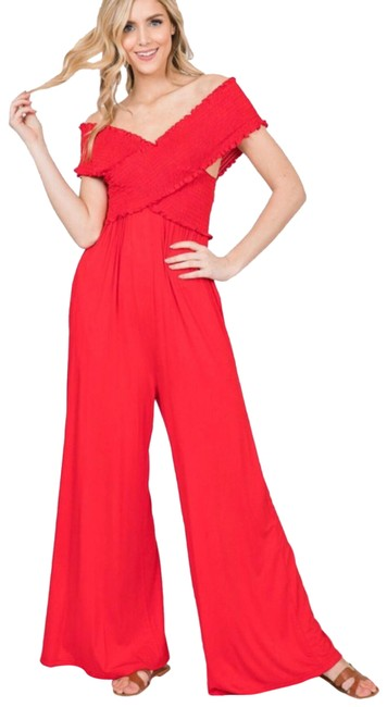 Item - Poppy Red Romper/Jumpsuit