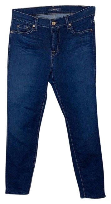 7 For All Mankind Au8118396a/039077 Capri/Cropped Jeans Size 8 (M, 29, 30) 7 For All Mankind Au8118396a/039077 Capri/Cropped Jeans Size 8 (M, 29, 30) Image 1