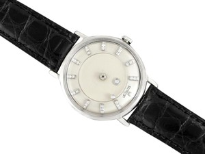 Jaeger-LeCoultre 1958 Jaeger-LeCoultre Vintage Galaxy Mystery Dial - 14K White Gold & D