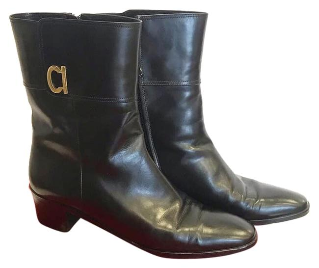 Item - Black Forest Ankle Leather Boots/Booties Size US 8 Regular (M, B)