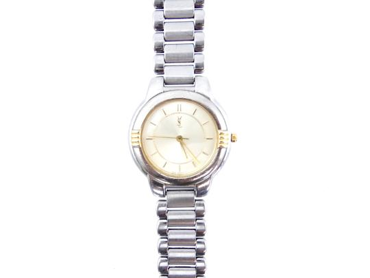 Saint Laurent YSL 6031 Stainless Steel Gold Watch Image 4