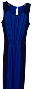 403 cosmic blue/black Maxi Dress by Kenneth Cole