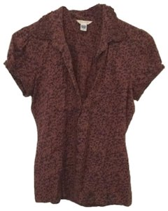 Maurices Button Down Shirt brown