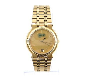 Gucci Non Working 9200m Gold Watch
