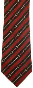 Gucci FREE Gucci red and green tie