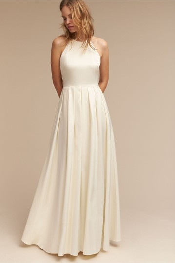 Preload https://img-static.tradesy.com/item/25547364/bhldn-ivory-satin-delancey-gown-badgley-mischka-modern-wedding-dress-size-8-m-0-0-540-540.jpg
