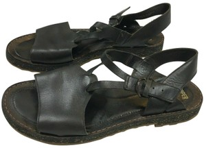Camper Leather Strappy Brown Sandals