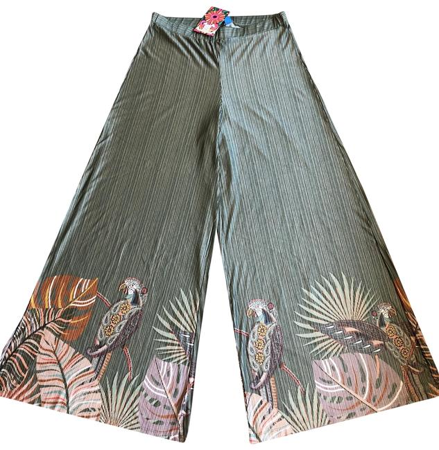 Item - Green Relaxed Pants Size 10 (M, 31)
