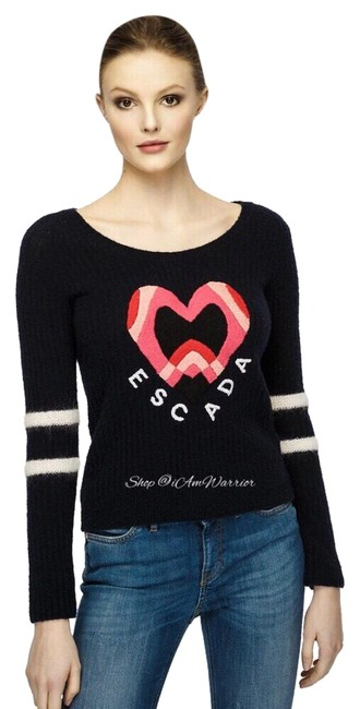 Preload https://img-static.tradesy.com/item/25547819/escada-heart-motif-navy-pink-red-and-off-white-sweater-0-3-650-650.jpg