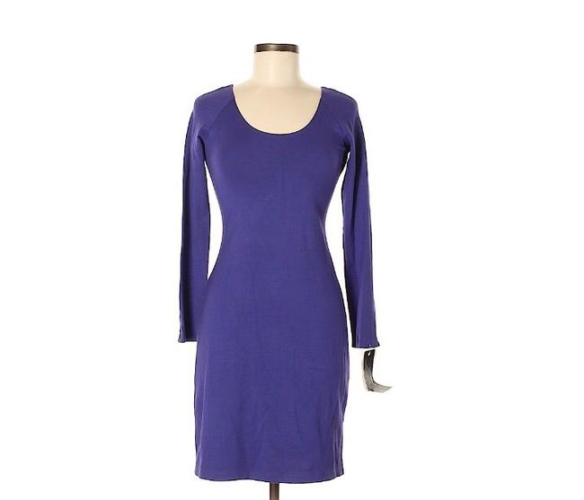Theory short dress purple on Tradesy Image 2