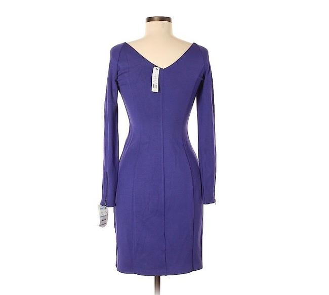 Theory short dress purple on Tradesy Image 3