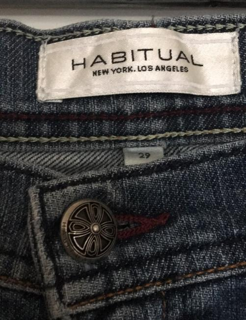 Habitual Straight Leg Jeans-Medium Wash Image 3