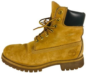Timberland Suede Ankle Camel Boots