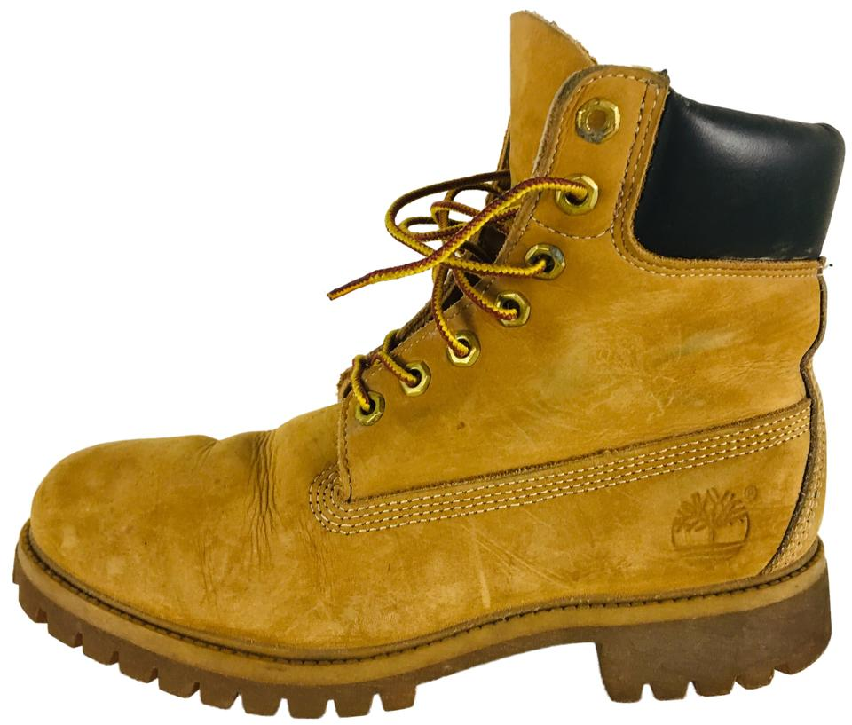 innovative design 2e4c9 8f508 Timberland Camel Vintage Suede Lace Up Ankle Boots/Booties Size US 9  Regular (M, B)