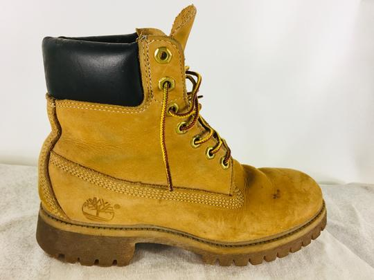 Timberland Suede Ankle Camel Boots Image 1