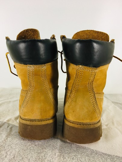 Timberland Suede Ankle Camel Boots Image 2