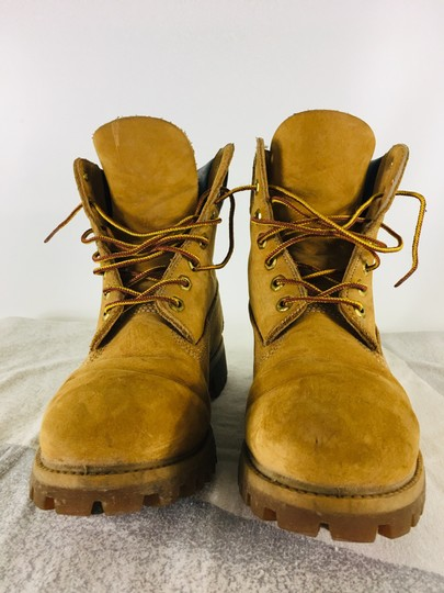 Timberland Suede Ankle Camel Boots Image 3