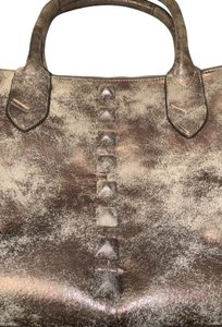 Aimee Kestenberg Satchel in Distressed gold