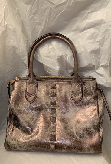 Aimee Kestenberg Satchel in Distressed gold Image 1