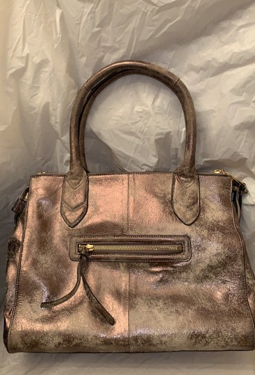 Aimee Kestenberg Satchel in Distressed gold Image 2