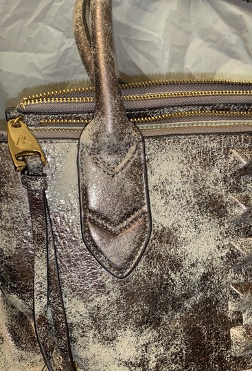 Aimee Kestenberg Satchel in Distressed gold Image 7
