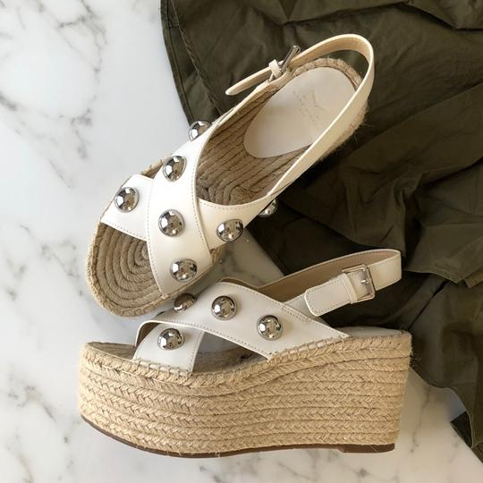 Marc Fisher white Wedges Image 1