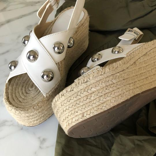 Marc Fisher white Wedges Image 4