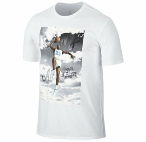 Air Jordan T Shirt white