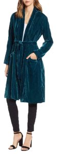 cupcakes and cashmere Duster Velvet Jade Luxe Tunic