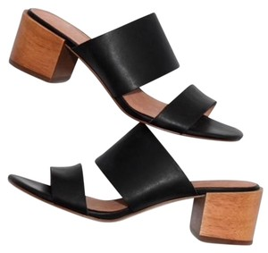 Madewell Leather Mule Black Sandals