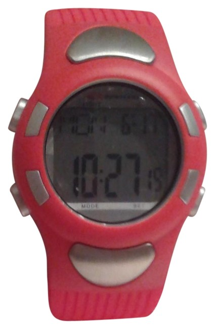 Item - Red Strapless Heart Rate Monitor Watch